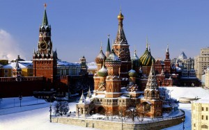 Flights to Moscow will get you to see the Red Square.